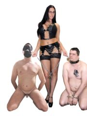 Io lo slave e la strafiga mistress