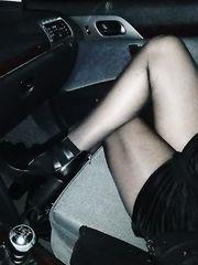 Scosciata in macchina