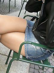 Le sue cosce al bar