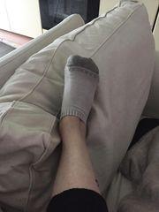 Calzino indossato per 24 ore