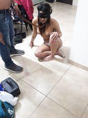Punizione della schiava Kiara