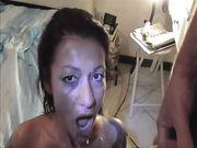 Roberta Farnese sborrata in bocca