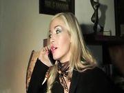 Evita Pozzi scopata e sborrata in bocca da cazzo duro