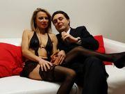 Federica Tommasi si masturba davanti a Andrea Dipre