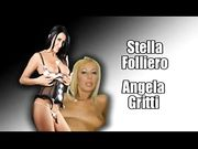 Stella Foliero e Angela Gritti scopano Omar Galanti