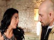 Priscilla Salerno prende due cazzi in doppia penetrazione