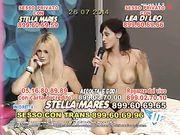 Lea di leo e Stella Mares telefono erotico