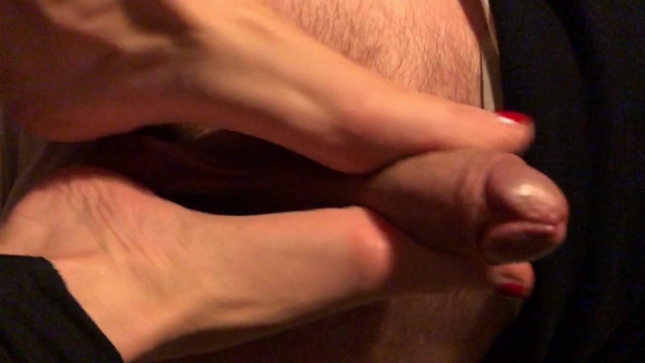 I miei piedi sul cazzo