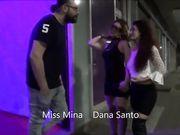 Miss Mina e Dana Santo gang bang al privè