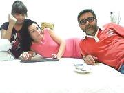 Moglie italiana porcella lesbica con la sua collega
