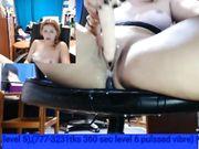 In ufficio si masturba e squirta sotto la scrivania