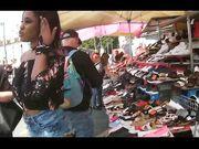 Fichetta di colore al mercato