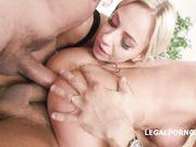 Orgia bisex Lara De Santis con dp anale