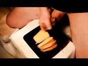 Gustoso panino con salsa di sperma