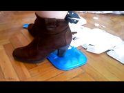 Trampling con stivali