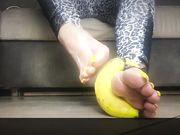 Mistress Marikah Bentley... banana crushing