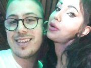 Carlo Stocaz con Laura Fiorentino