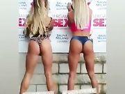 Noemi Blonde e Lara de Santis