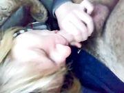 Amica napoletana mi fa un bel pompino in auto