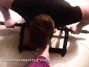 Mistress Marikah Bentley ti obbliga al fitness