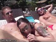 Orgia hard academy con Rocco e Malena