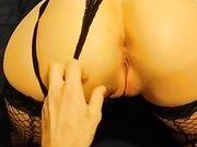 Fidanzata fica in lingerie lo prende tutto a pecorina
