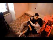 Coppia italiana studenti gira filmino porno